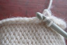 Knitting/Crocheting Tutorials / by Karen Abbott