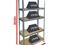 Storage Rack Unit Shelving Warehouse Home Furniture Shelf Cupboard Tools Holder