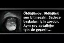 Özlü Sözler / Hayata Dair...