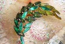 Beautiful vintage costume jewelry like great grandma used to wear
