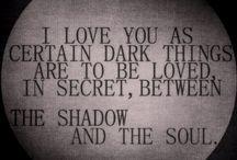 Dark Quotes / by Kristin Crase