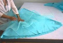 falda de tul o criolina