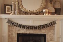 Fireplace decor / by Judy Stokely - Ind. Director, Thirty-One Gifts