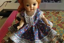 Vintage Dolls  / by Virginia Parker