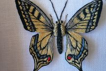 Embroidered Butterflies / by Anne Davies