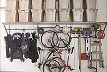 Bike Storage / Garaginize's bike storage options make getting to your bike easy.  www.garaginize.com