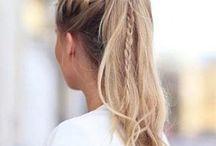 penteados para a escola