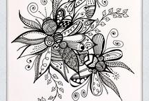 doodle and zentangle