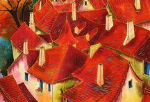 Rajzok, házak