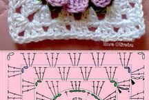 crochet motif & pattern / Motif & pola rajut