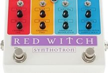 Red Witch Guitar and Bass Pedals