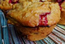 Muffins canneberge orange.