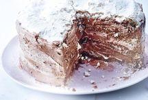 gâteau chocolat café noisette meringue