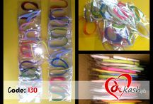 Quilling strips and tools. / Here you can get almost every kind of quilling tools.