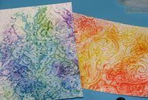 Medium:Watercolor Paint / Handmade cards using watercolor paint.