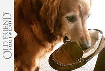 Dog Friendly Slippers / Great slippers to wear around the home when you want to stay in with your favorite fury friend!