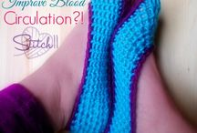 CROCHET: Socks, Shoes, Slippers, Etc. / Crochet- Socks, Shoes, Slippers, Etc. / by Lady Katie