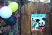 A Mickey Mouse Birthday Party / For my boy who turned one. Everything must have ears! / by Mai Miranda