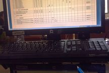 Job desk / This is my little job desk