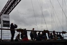 ARCO en el Puente Bizkaia / Desfile que Arco Wellness Factory organizó en el Puente Bizkaia para presentar sus propuestas de peluquería, maquillaje y estilismo con algunos de los puentes más famosos del mundo como protagonistas.