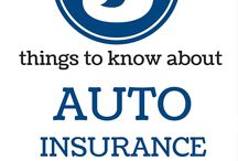 Auto Insurance / Things to know about auto insurance.