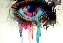 Piensa que el futuro es una ACUARELA, y tu vida un lienzo que coloreas...