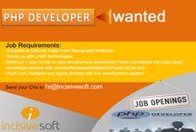 Job Opportunities at Incisivesoft / Recent Jobs