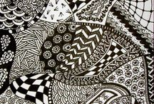 Zentangle Patronen