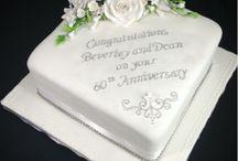 évfordulós torták