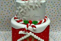Xmas Cake Themes