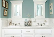 Master Bath Makeover / by Tiffany Kirkwood