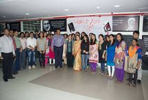 Celebrating World Aids Day / An event was organized at iLead to raise awareness about AIDS.