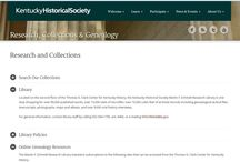 Genealogy Historical Societies / Historical society resources