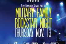 Military Events / Events taking place for military service members