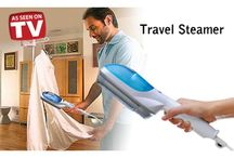 Travel Steamer / TRAVEL STEAMER is a portable steam iron which is ideal for traveling. This lightweight