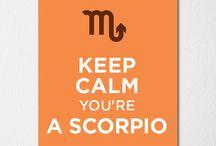 Scorpio. / by Erica Brown