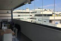 Madrid - Cierre de un Balcón / https://www.cerramientosabatibles.com/galeria/cierre-balcon-madrid