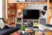 Practical guest room