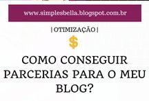 Ganhos | Parcerias para Blog • / Dicas para parcerias e rentabilidade com o blog e redes sociais