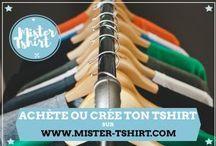 Mister Tshirt / Et si on se faisait un beau #tshirt pour cet #été qui commence sur http://www.mister-tshirt.com  #mode #social #tees