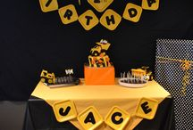 Construction party theme / Birthday party for walden 1st