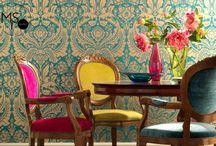Dining room interior design / Dining inspirations, decorating ideeas, contemporary design