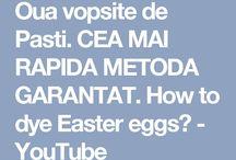 noi metode de a vopsi ouăle