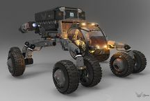 Mars rovers concepts