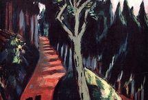 New Objectivity / Термин возник в 1923 году, чтобы описать сдвиг немецкой живописи к реализму. Связанные с этим течением художники работали в разнообразных стилях, но все разделяли озабоченность социальными и политическими вопросами, резко реагируя на упадок и кризис в стране. Christian Schad, Käthe Kollwitz, Otto Dix, George Grosz, Max Beckmann