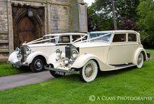 Wedding cars...