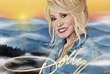 "Music - ""Dolly Parton"" / by Debbie Fortescue"