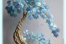 Tutorial membuat Pohon Bonsai