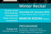 Winter Recital 2015 this Saturday Jan 24th / Prizewinner's Recital Hastings
