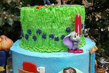 Anniversaire gâteau lenny